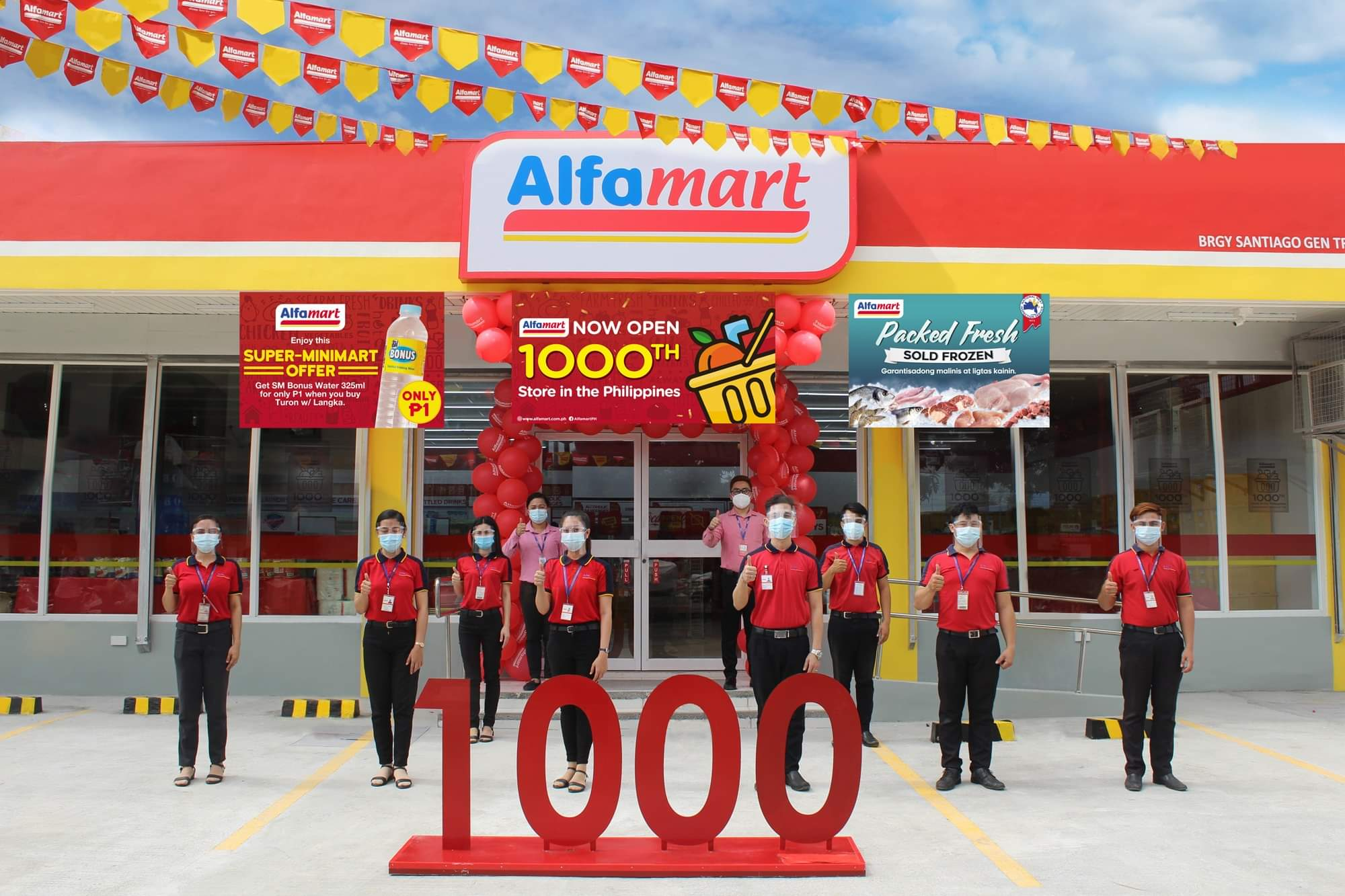 Alfamart's 1000th Store!